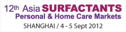 12th Asia Surfactants Personal & Home Care Markets,