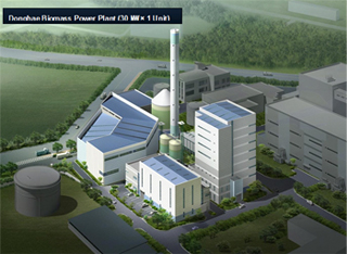 Donghae 30MW Biomass Power Plant