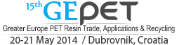 15th GEPET, Greater Europe PET Resin Trade,  Applications & Recycling