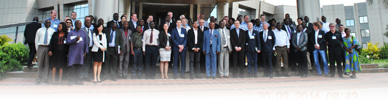 Cassava World Africa delegates in a group photo taken with Hon Robert K.K.Sichinga MP, the Minister of Agriculture And Livestock, Zambia