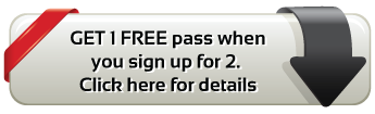 Get 1 EXTRA FREE pass when you sign up for 2.