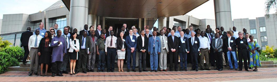 Cassava World Africa delegates at conference